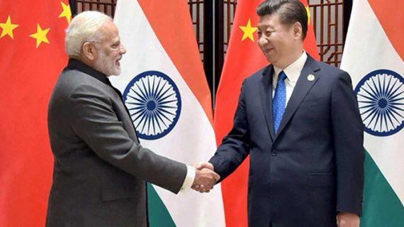 SCO सम्मेलन से अलग पीएम मोदी ने चीनी राष्ट्रपति चिनफिंग से की मुलाकात