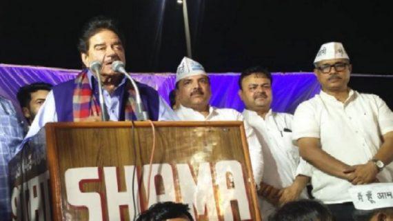 आम आदमी पार्टी के मंच से शत्रुघ्न सिन्हा का बयान, पीएम मोदी 'तथाकथित चायवाले'