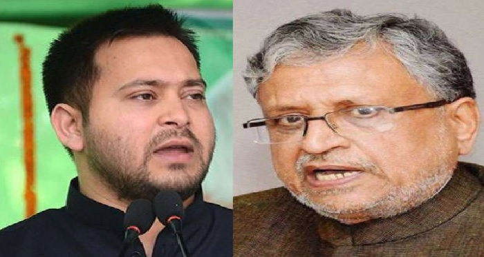 shusil modi 1 तेजस्वी यादव के आरोपों पर सुशील मोदी का पलटवार, ट्वीट कर पूंछे राजद नेताओं से पूंछे सवाल