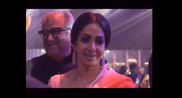 sri bonney kapoor VIDEO: श्रीदेवी का ये आखिरी वीडियो देखकर बोले बोनी कपूर, 'जान, आपकी हंसी, जिंदगी मेरे अंदर हमेशा बसती है'