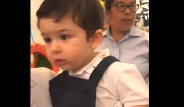 taimur तुषार कपूर के बेटे की बर्थ डे पार्टी में तैमूर ने  किया डांस, देखें वीडियो