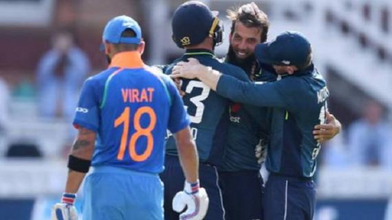 इंग्लैंड ने भारत को दूसरे वन-डे मैच में कड़ी शिकस्त देकर सीरीज में 1-1 से बराबरी की.