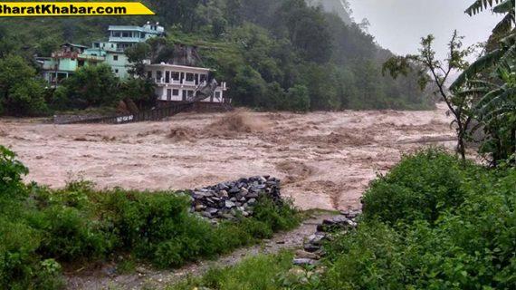उत्तराखंड:मौसम विभाग ने जारी किया अलर्ट,27 जुलाई तक भारी बारिश की संभावना