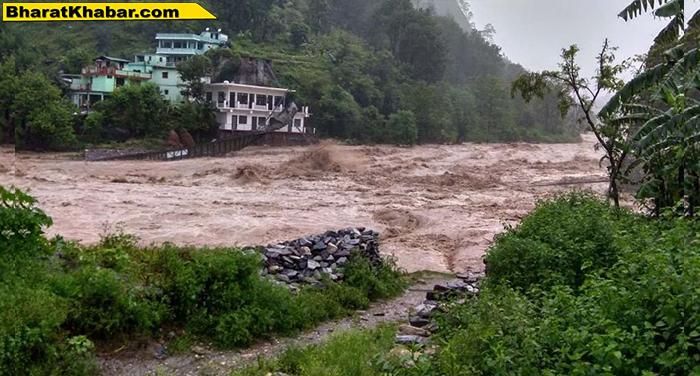 19 उत्तराखंड:मौसम विभाग ने जारी किया अलर्ट,27 जुलाई तक भारी बारिश की संभावना