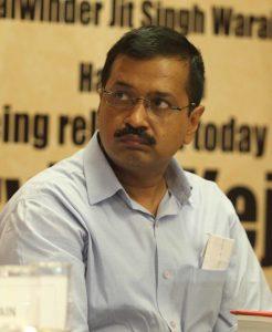 Arvind Kejriwal potrait 1 दिल्ली को टिड्डियों के कहर से बचाएगा डीजे और ढोल?