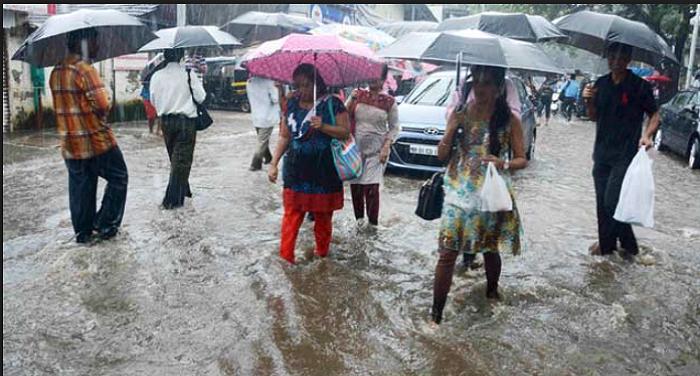 RAIN भारी बारिश को लेकर 21 राज्यों में अलर्ट जारी,एनडीआरएफ की 100 टीमों  को किया गया तैनात