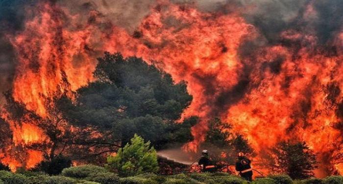 यूनान में लगी आग की चपेट में आने से अब तक 74 लोगों की हुई मौत