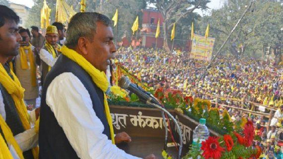 सुभासपा अध्यक्ष ओपी राजभर ने दी भाजपा को चुनौती कहा, हिम्मत है तो कैबिनेट से बाहर कर दिखाएं हमें