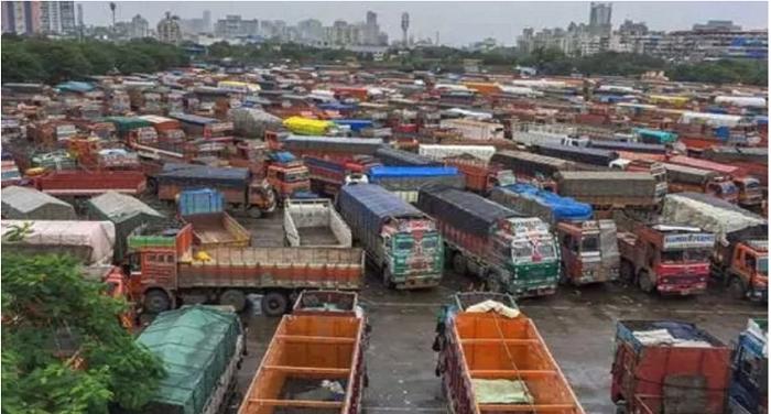 आठ दिनों से देशभर में जारी ट्रक हड़ताल खत्म,ऑल इंडिया मोटर कांग्रेस के अध्यक्ष कुलतरन सिंह ने की घोषणा