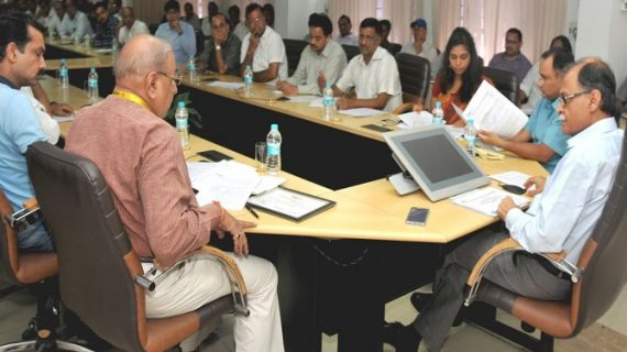 जीएसटी से जुड़े सभी होल्डर्स के साथ मुख्य सचिव उत्पल कुमार सिंह ने की बैठक