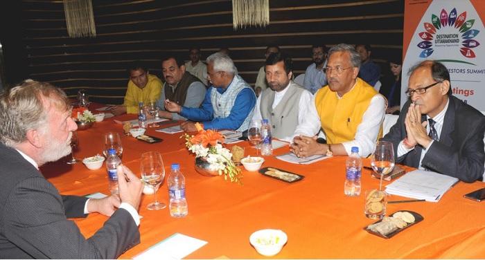 उत्तराखंड है, निवेश के लिए सबसे बेहतर राज्य: मुख्यमंत्री त्रिवेन्द्र