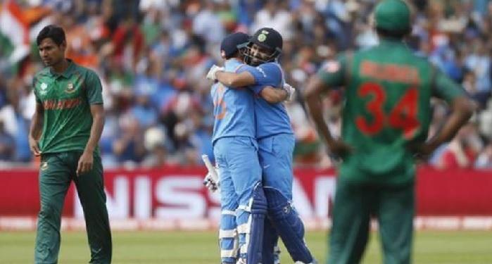 न्िु्ेिे्ि्ेि एशिया कप: भारत को बांग्लादेश 7 विकेट से हराया, जडेजा ने की शानदार गेंदबाजी