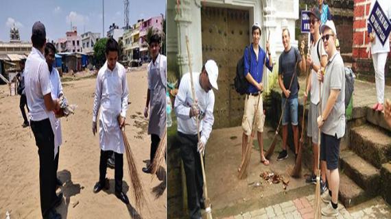 पर्यटन मंत्रालय द्वारा देश भर में 'स्वच्छता ही सेवा' गतिविधियों का आयोजन किया