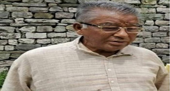 समाजसेवी शमशेर के निधन पर अल्मोड़ा रैमजे में एक श्रृद्धांजली सभा आयोजन किया गया
