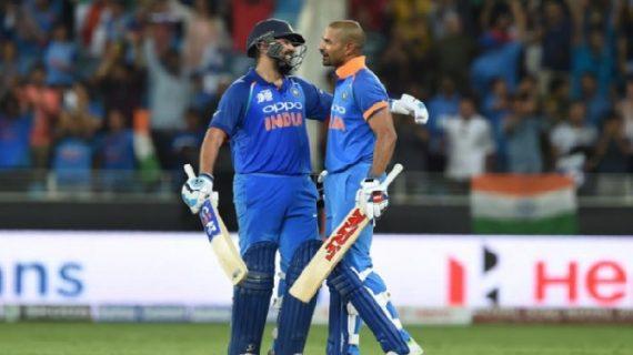 INDvsPAK: पाक को मात देने के बाद कप्तान रोहित ने की खिलाड़ियों की तारीफ