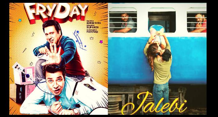 महेश भट्ट की 'जलेबी' और गोविंदा की फिल्म 'फ्राई डे' का पोस्टर हुआ रिलीज