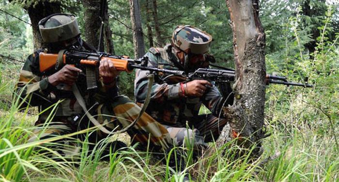 उत्तरी कश्मीर के बांदीपोरा जिले में सुरक्षाबलों और आतंकियों के बीच मुठभेड़, दो आतंकी ढेर