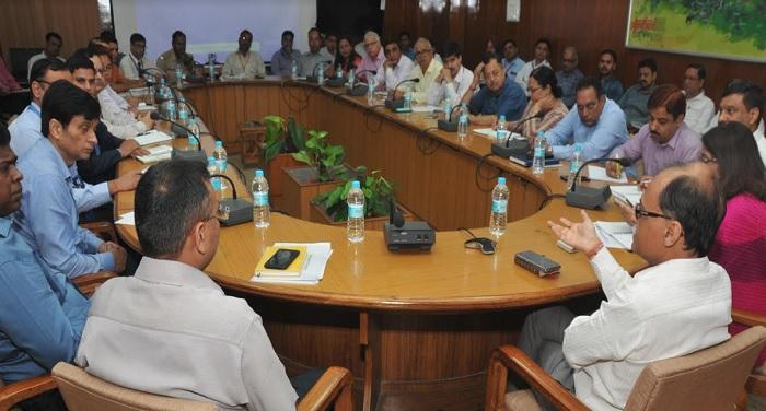 मुख्य सचिव अक्टूबर में भारत सरकार और राज्य सरकार के उपक्रमों के साथ बैठक