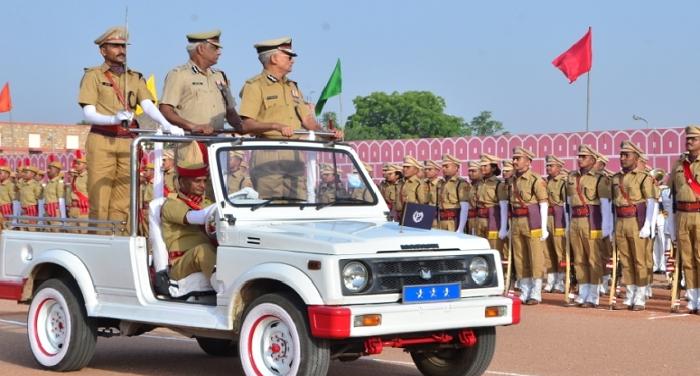 राजस्थानः पुलिस अकादमी में RPS प्रोबेशनर बैच 48, का दीक्षांत परेड समारोह संपन्न हुआ