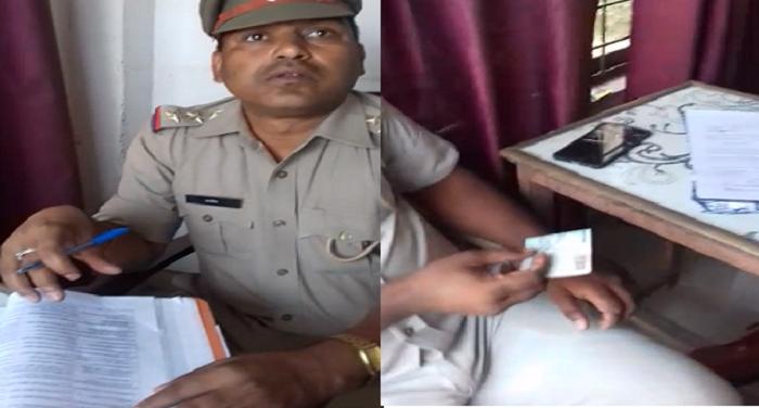 उप्रःहरदोई में चेकिंग के नाम पर पुलिस कर रही रिश्वतखोरी,वीडियो हुआ वायरल