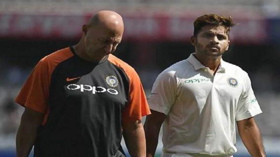 डेब्यू मैच में शार्दुल ठाकुर को चोटिल होकर छोड़ना पड़ा मैदान