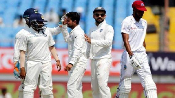 IND vs WI 2nd Test: दूसरी पारी, भारत को मिली दूसरी सफलता, विंडीज का स्कोर 18-2