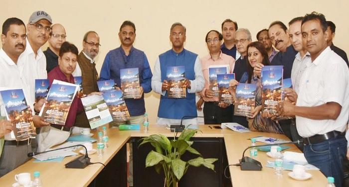 सीएम रावत से पब्लिक रिलेशन सोसाइटी ऑफ इंडिया के देहरादून चैप्टर के प्रतिनिधिमण्डल ने भेंट की