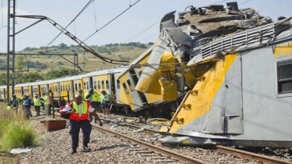 दक्षिण अफ्रीका: केम्पटन पार्क सिटी में ट्रेन हादसे में 300 यात्री गंभीर रूप से घायल