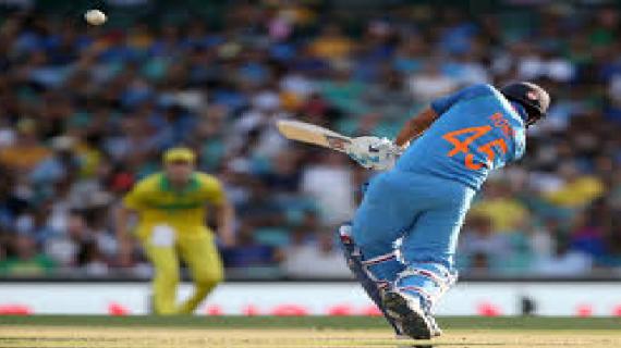 वनडे मैच-'हिटमैन' की मेहनत पर फिरा पानी, सिडनी में 34 रनों से कंगारुओं की जीत