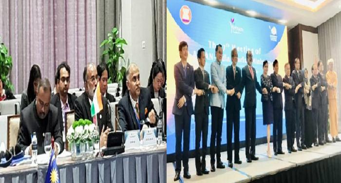 आसियान देशों के पर्यटन मंत्रियों की 7वीं बैठक में शामिल हुए के.जे. अल्फोंस