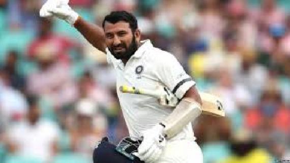 चेतेश्वर पुजारा आईसीसी रैंकिग में टॉप तीन बल्लेबाजों में शामिल