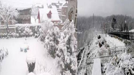 जम्मू-कश्मीरः बर्फबारी के चलते घाटी का देश से टूटा संपर्क