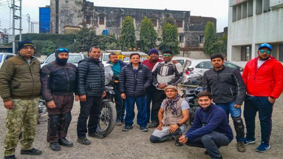 सचिव पर्यटन ने देहरादून में मोटर बाइक रैली को फ्लैग ऑफ किया
