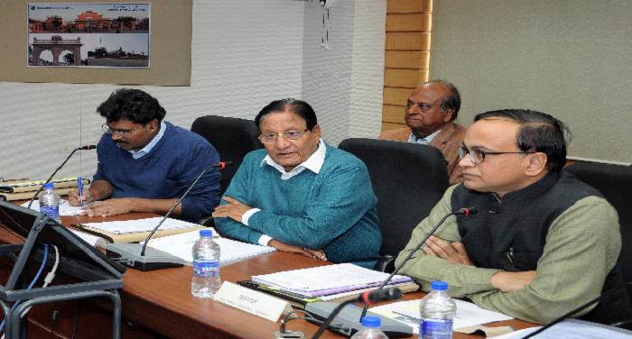 राजस्थानः नगरीय विकास मंत्री ने आवासन मण्डल में समीक्षा बैठक की