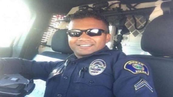 भारतीय मूल के पुलिस अधिकारी की हत्या के बाद 'अमेरिकी हीरो' कहा गया