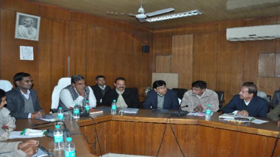 राजस्थानः पशुपालन मंत्री ने पशुपालन और मत्स्य विभाग की समीक्षा बैठक को सम्बोधित किया