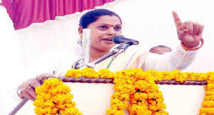 साधना सिंह BJP विधायक का आपत्तिजनक बयान, कहा मयावती ने महिलाओं की अस्मत पर दाग लगाया