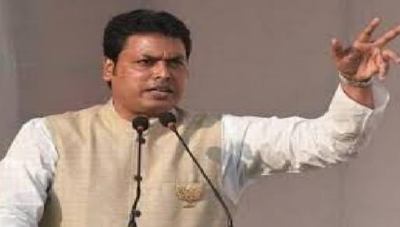 पंद्रहवेंवित्त आयोग ने  त्रिपुरा के मुख्यमंत्री के साथ विस्तृत विचार-विमर्श किया