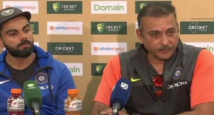 ुुे्िु्ु्ि IND vs AUS: जीत के बाद रवि शास्त्री ने साधा 'क्रिकेट के भगवान' पर निशाना