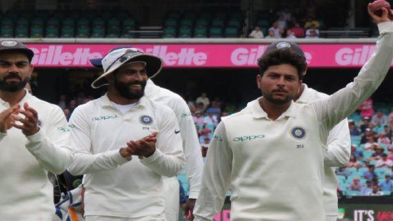 IND vs AUS: कुलदीप यादव ने की शानदार गेंदबाजी, एक पारी में झटके पांच विकेट