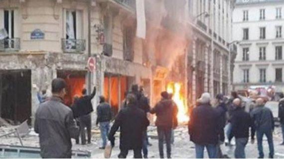 पेरिस में एक इमारत में शक्तिशाली विस्फोट में 2 दमकल कर्मी और स्पेन की एक महिला की मौत