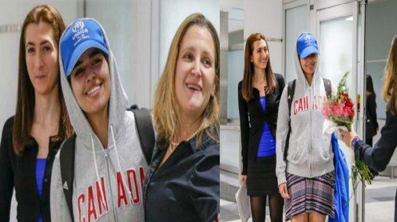 कुवैत से भागी सऊदी अरब की 18 साल की राहफ मोहम्मद अल कुनुन को कनाडा ने दी शरण