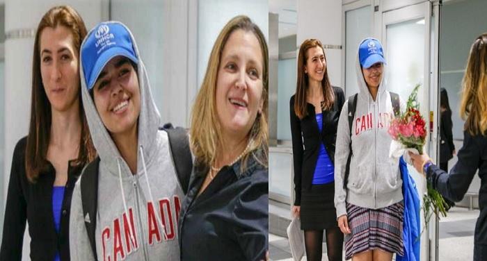 quait कुवैत से भागी सऊदी अरब की 18 साल की राहफ मोहम्मद अल कुनुन को कनाडा ने दी शरण