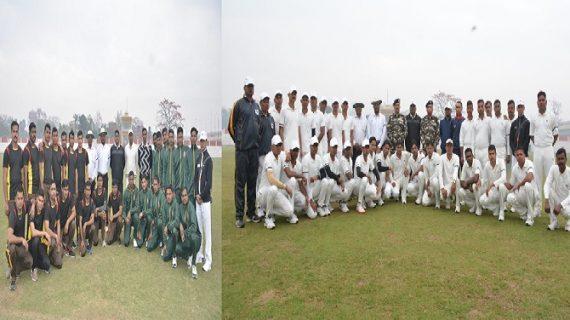 सीमान्त क्रिकेट प्रतियोगिता के दौरान 02 सेमी फाइनल मैच खेले गये