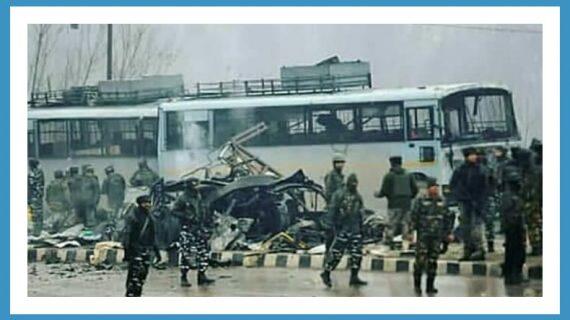 पुलवामा में आतंकियों और सुरक्षाबालो के बीच मुठभेड़, मेजर समेत 4  जवान शहीद