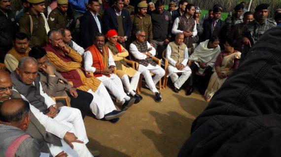 मेरठ के लाल की शव यात्रा में शामिल हुए दर्जा प्राप्त मंत्री सुनील भराला