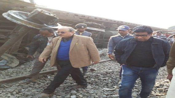 बिहार में भीषण रेल हादसा 6 लोगों की मौत ! 8 गंभीर रूप से घायल। जांच के आदेश