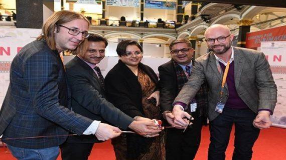 69वें बर्लिन अंतर्राष्ट्रीय फिल्म महोत्सव में भारतीय पवेलियन का उद्घाटन