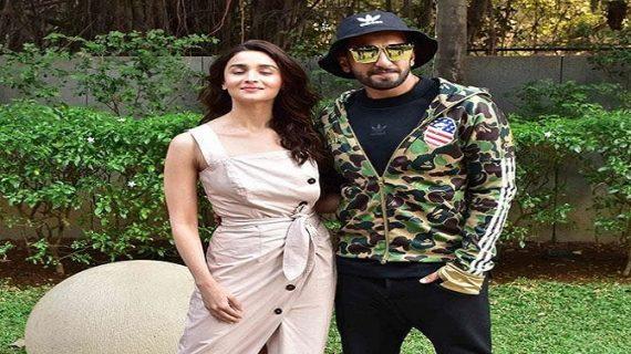 रणवीर सिंह इन दिनों आलिया भट्ट के साथ अपनी फिल्म गली बॉय के प्रमोशन में व्यस्त