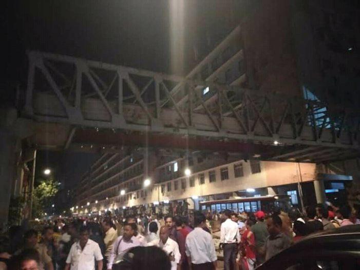 भाजपा प्रवक्ता ने मुंबई सीएसटी ओवरब्रिज हादसे को बताया प्राकृतिक आपदा